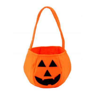 Halloween Pumpkin Shape Portable Gift Bags Candy Bag