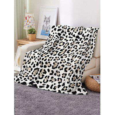 Leopard Printed Multifunction Nap Blanket