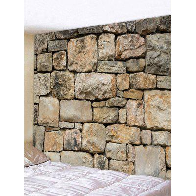 Rock Stone Wall Printed Home Decor Tapestry