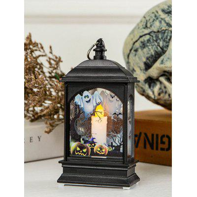 Halloween LED Decorative Scene Table Night Lantern