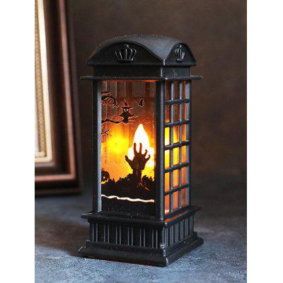 Retro Halloween Tomb Pattern Decoration Lamp