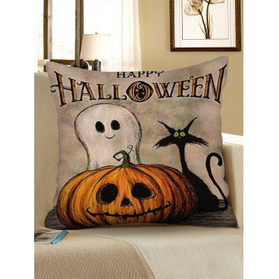 Halloween Pumpkin Digital Print Sofa Pillowcase