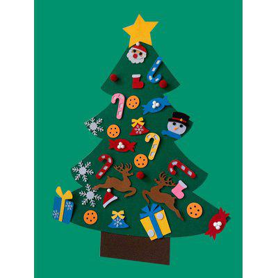 Felt Christmas Tree Shape Home Decor