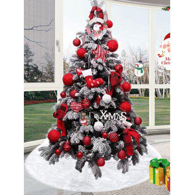 Faux Fur Decorations Christmas Tree Skirt