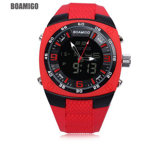 72427ae5fa9 BOAMIGO F602 Dual Movt Digital Quartz Male Military Watch - R 118.28 ...