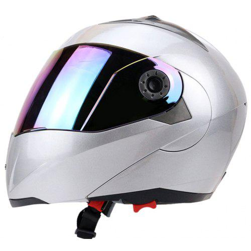 Motorcycle Helmets For Sale >> Full Face Colorful Shield Dual Visor Motorcycle Helmet Gearbest