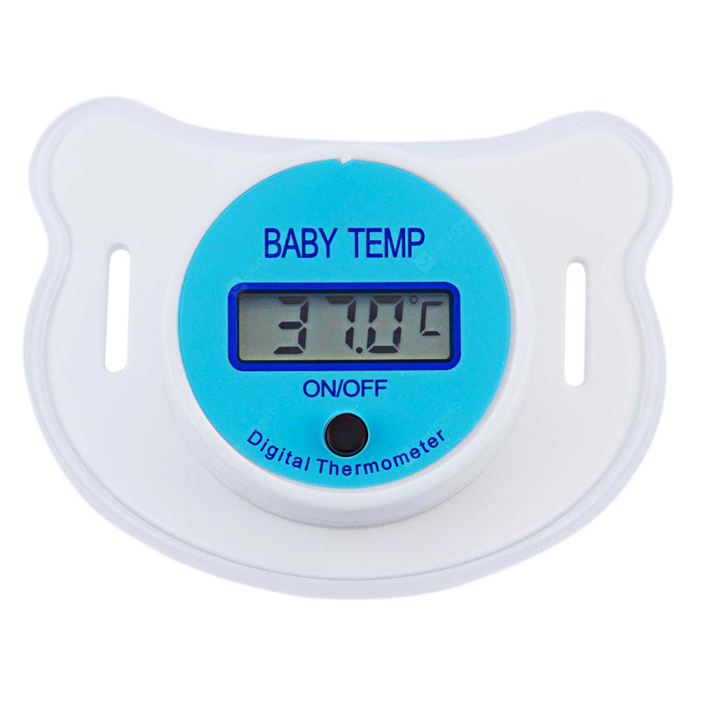 Portable LCD Digital Mouth Pacifier Thermometer - $2.01 Free ...