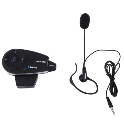 Vnetphone V5C 1200M Full-duplex Bluetooth Interphone