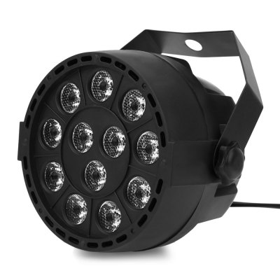 12 LED 8CH RGBW Mezcla de colores Par Light