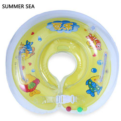 661cdd6d2 Summer Sea Baby Swimming Inflatable Bathing Neck Float