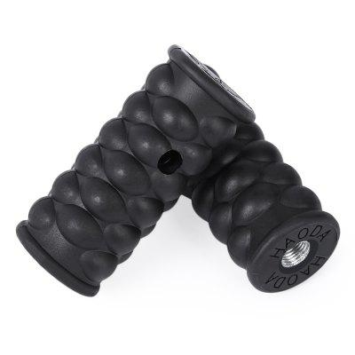 2pcs Bicycle Plastic Wheel Pedals Axle Foot Pegs