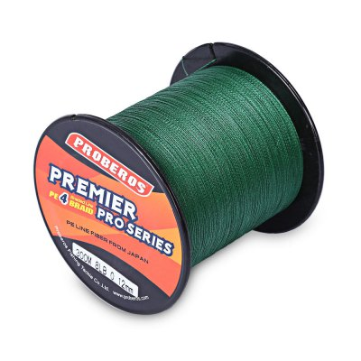 PROBEROS 300M PE 4 Strands Braided Fishing Line