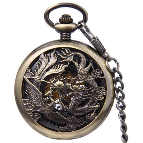 f80ce269299d55 Antique Mechanical Hand Wind Fob Watch -  16.77 Free Shipping ...