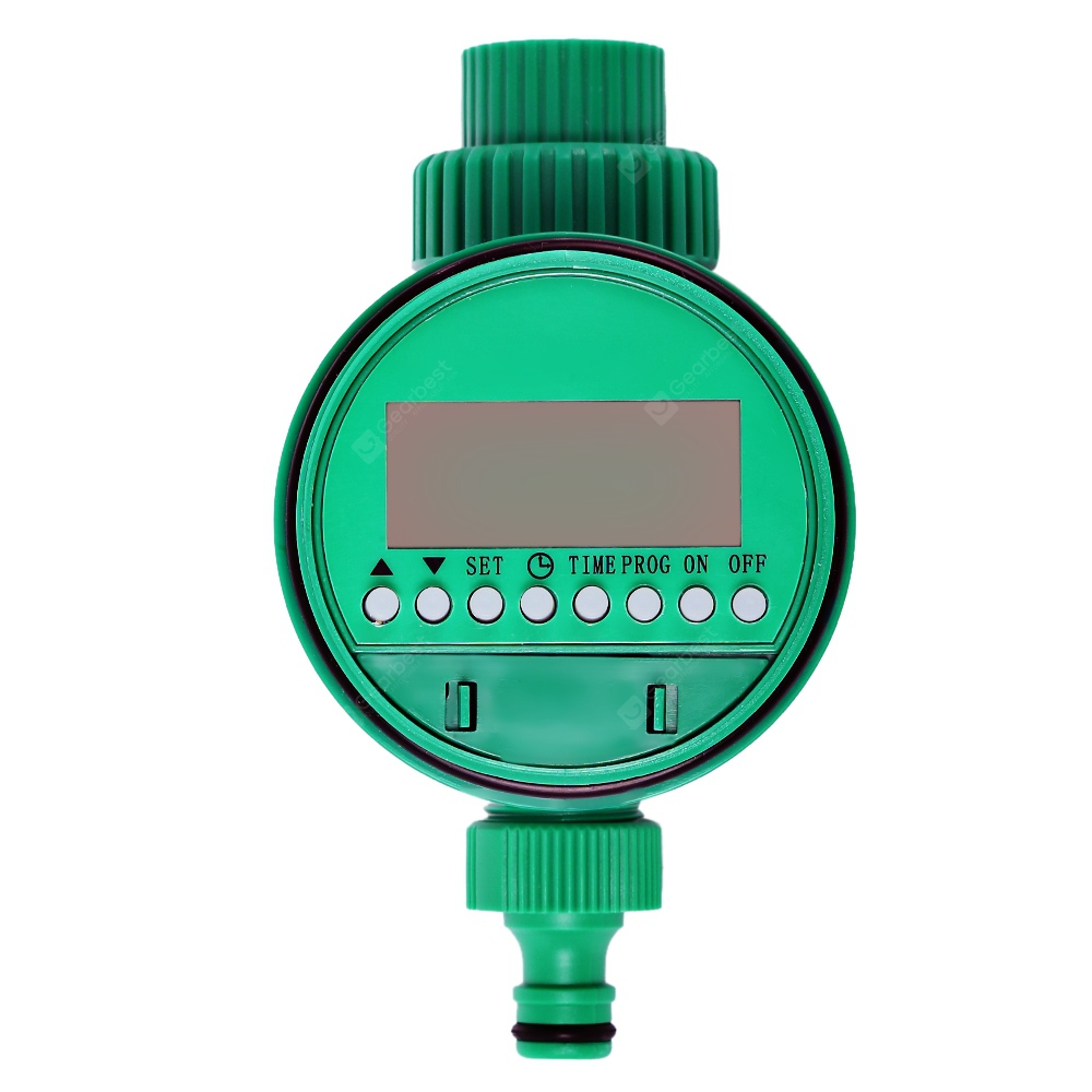 Smart Automatic Watering Timer Irrigation Controller - Green