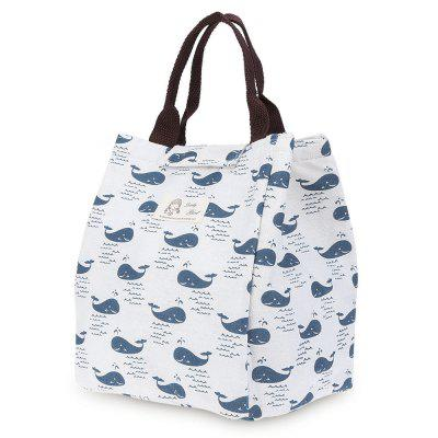 Print Heat Preservation Water Resistant Lunch Bag