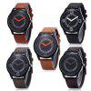 Miler A8295 Men Quartz Watch - LIGHT COFFEE