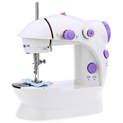 Mini Double Speed Automatic Thread Sewing Machine With Light Unique Automatic Cutting And Sewing Machine Price