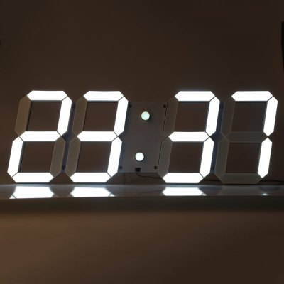 Remote Control Big LED Digital Wall Clock