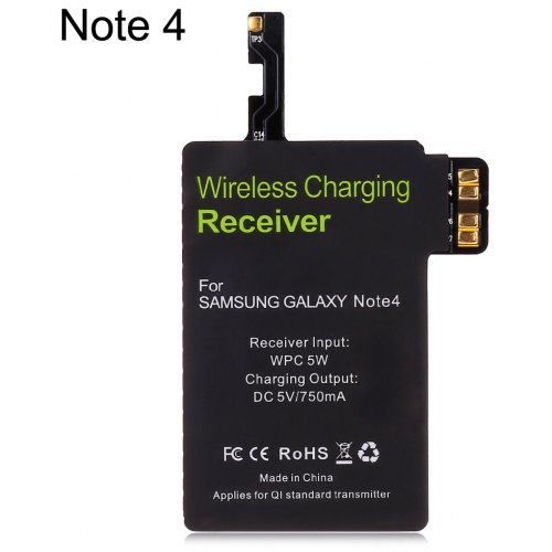 Qi Wireless Charger Transmitter for Samsung Galaxy Note 4