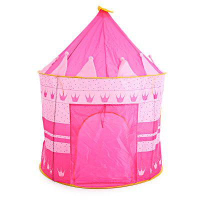 Refurbished Children Folding Play House Portable Toy Castle Tent