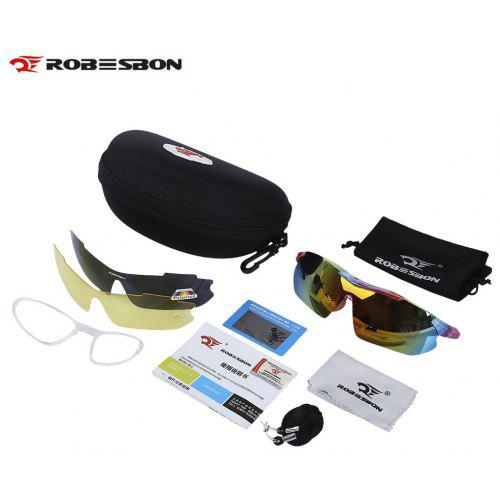 172d4ba1c9 Robesbon Polarized Cycling Glasses with Myopia Frame -  7.11 Free ...