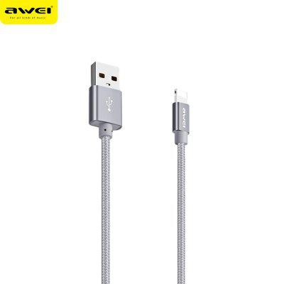Awei CL - 988 8 Pin Nylon Braided Charge Data Transfer Cord
