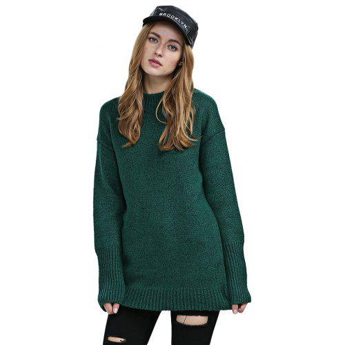 257942cf3 Trendy Long Sleeve Knitted Pure Color Women Sweater -  30.84 Free  Shipping