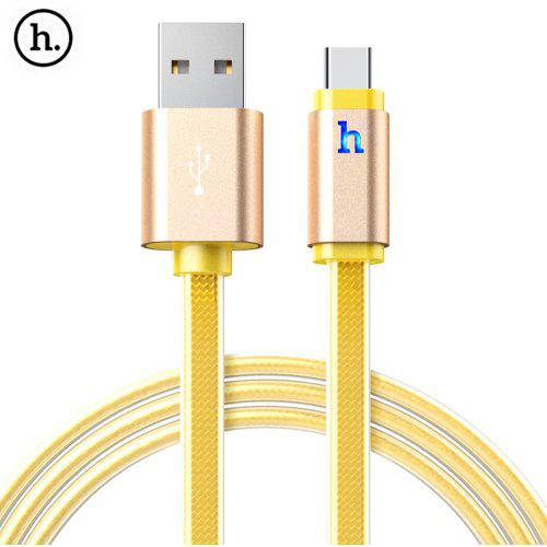 HOCO UPL12 2.4A Jelly Type-C Braided Cable with Light 1.2M -  3.67 Free  Shipping dcd7e7a61aa3