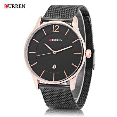 Curren 8231 Montre à Quartz Mâle