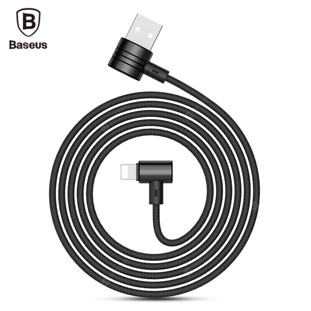 Baseus T-type 8 Pin Magnet Wire ( Side Insert ) for iPhone 1M ...