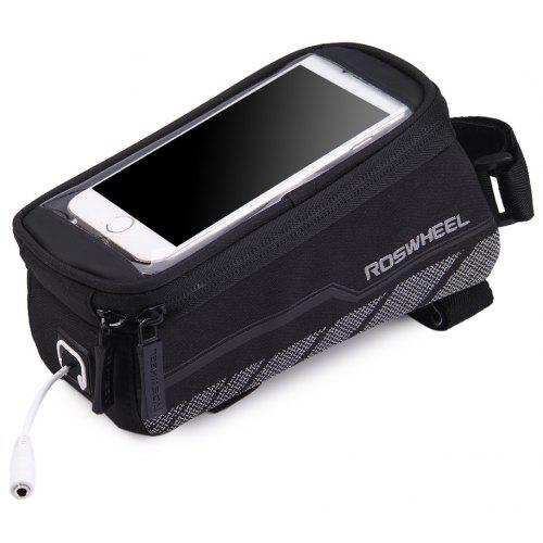 """ROSWHEEL Cycling Bike Bicycle Top Frame Front Tube Bag Case for 5/"""" 5.2/""""  Phone"""