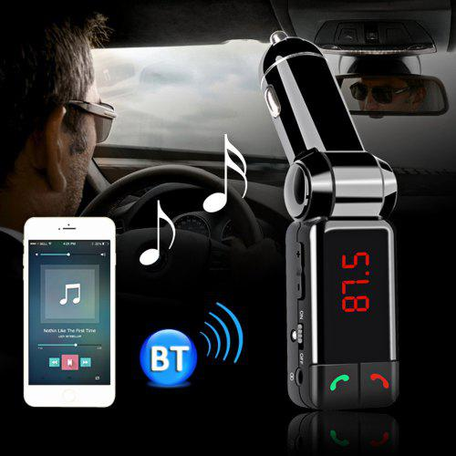Bluetooth V2.0 Car Charger sense fil Mans lliures estèreo MP3 Player