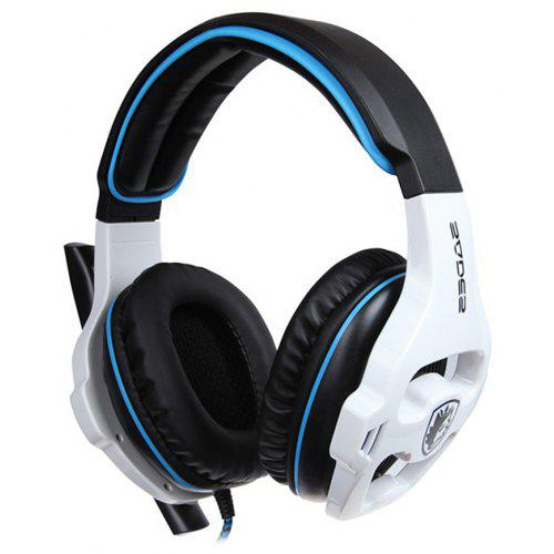 ec4c754c686 Sades SA - 903 Stereo 7.1 Surround Pro USB Gaming Headset with Mic Headband  Headphone for PC Laptop | Gearbest