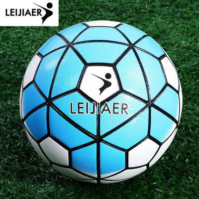 LEIJIAER Size 5 PU Anti-slip Outside Soccer Ball Football