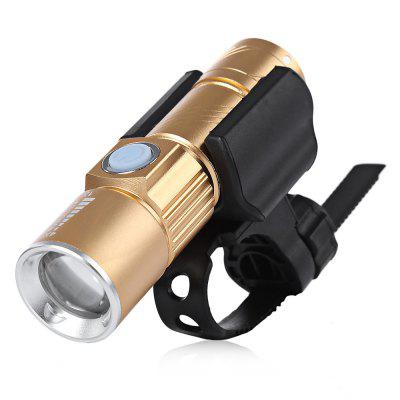CYCLE ZONE USB Rechargeable Bike Front Handlebar Light