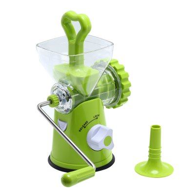 Multipurpose Manual Meat Vegetable Grinder Sausage