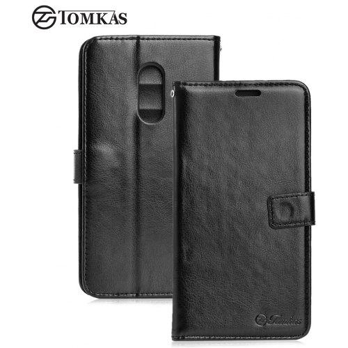 release date: 24be1 5d67b Tomkas Crazy Horse Series Wallet Case for Xiaomi Redmi Note 4