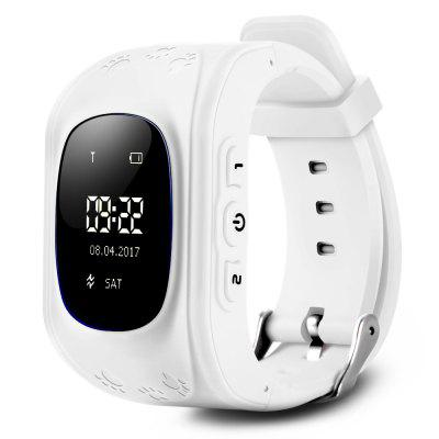 Q50 Kids OLED Montre GPS Smart Watch Téléphone
