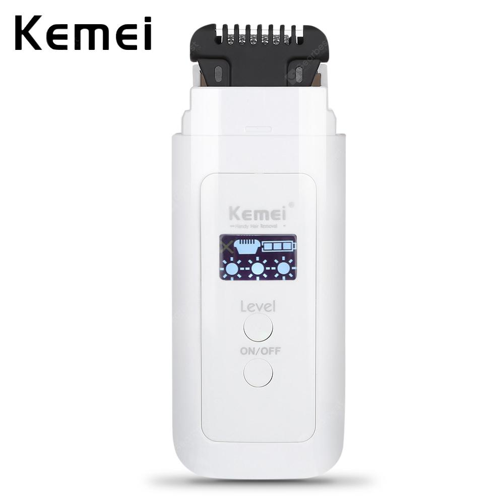 Kemei KM - 6811 LED Display Hair Removal Electric Epilator