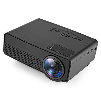 H100 LED Projector 600 Lumens 480 x 320P Support 800 x 480P