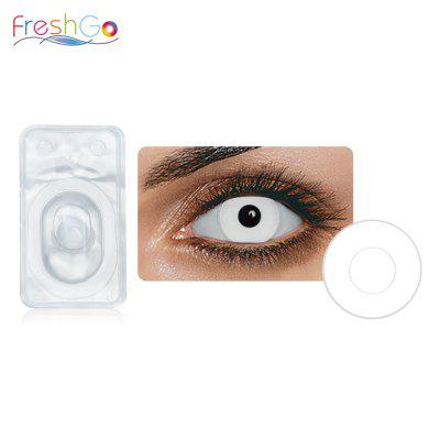 FreshGo 1 Pair Soft Pupil Cosmetic Contact Lenses for Cosplay