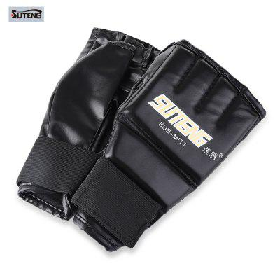 One Pair Half Mitts Sparring Luvas de boxe