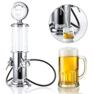 Transparent Layer Design Double Gun Beer Dispenser Machine