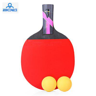 BOLI Three Star Table Tennis Ping Pong Racket Paddle com bola