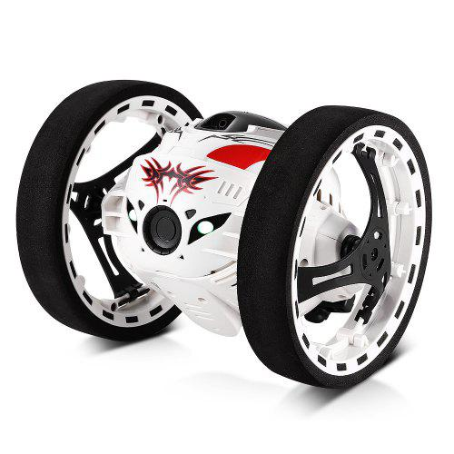 GBlife 24GHz Wireless Bounce Car for Kids WHITE