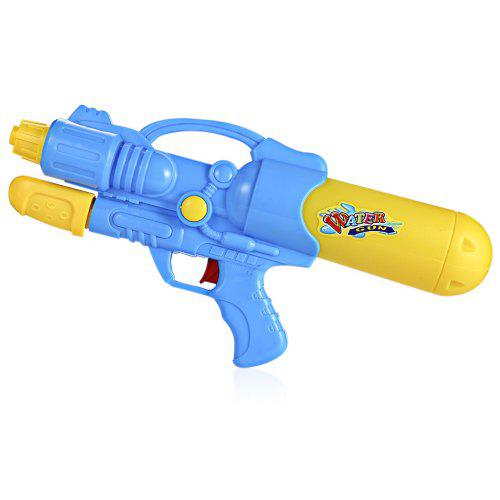 Dual Hole Nozzle Pull Water Gun Soaker Squirt Blaster Toy