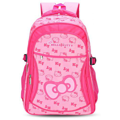 Hello Kitty Print Girls Kid Cute School Bag Outdoor Backpack ... 486f1d4e98fcf