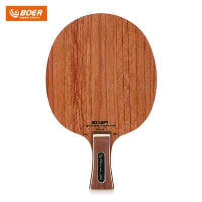 BOER Table Tennis Racket Ping Pong Blade Paddle