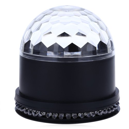 LED RGB 15W 2 i 1 Roterende Magic Ball Stage Light
