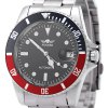 WINNER W042602 Male Automatic Mechanical Watch - RED WITH BLACK